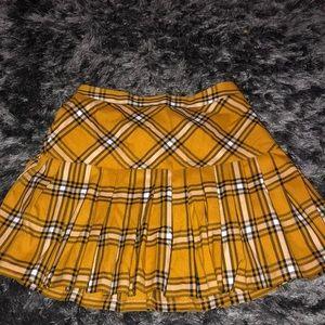 """Forever 21 """"school girl"""" plaid mini skirt"""